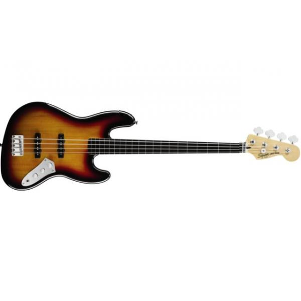 Bajo Squier Vintage Modified Jazz Bass® Fretless, Ebonol Fingerb