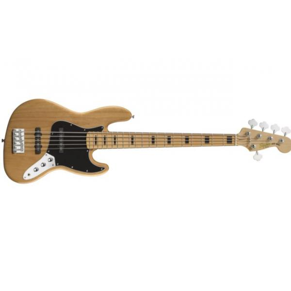 Bajo Squier Vintage Modified Jazz Bass® V, Maple Fingerboard, Na