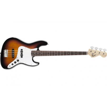 Bajo Squier Affinity Jazz Bass® Rosewood Fingerboard, Brown Sunb