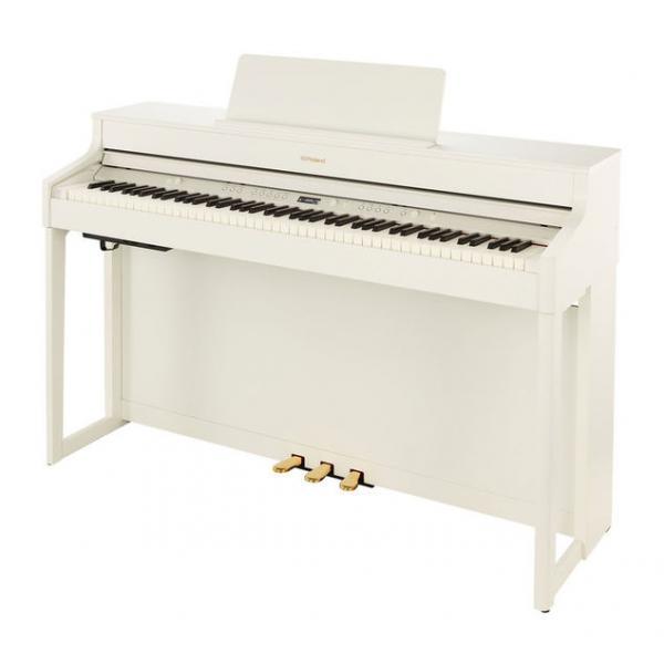 ROLAND HP702 PIANO DIGITAL 88 TECLAS BLANCO