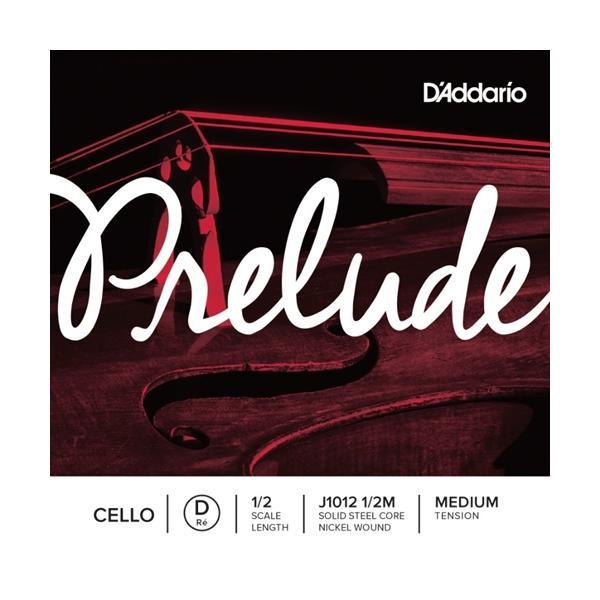 D'ADDARIO PRELUDE D J1012 1/2 MED CUERDA CELLO