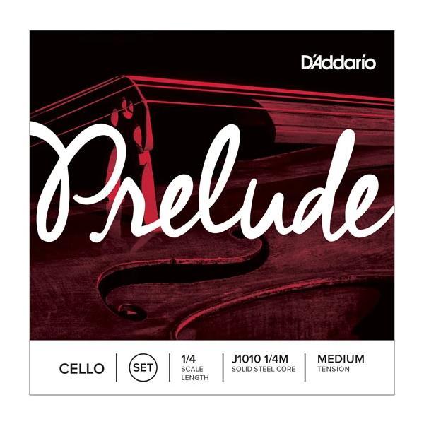 D'ADDARIO PRELUDE A J1011 1/4 MED CUERDA CELLO