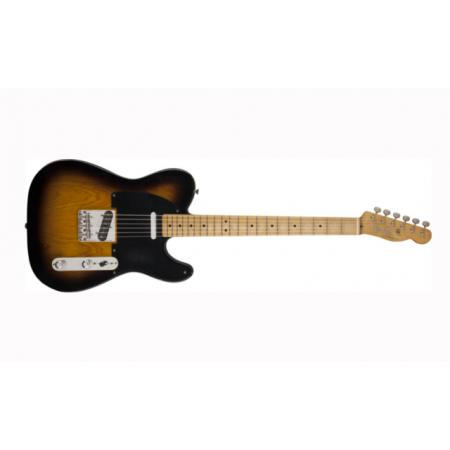 Fender Road Worn® '50s Telecaster®, Maple Fingerboard, 2-Tone Sunburst Guitarra Electrica