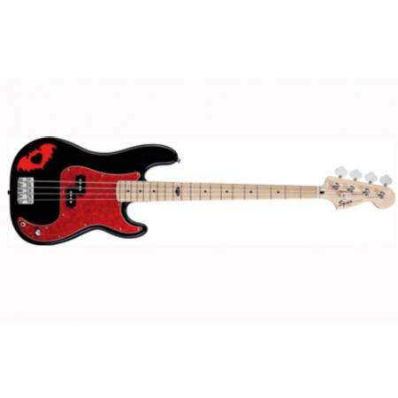 Bajo Squier Pete Wentz Precision Bass®, Maple Fingerboard, Black
