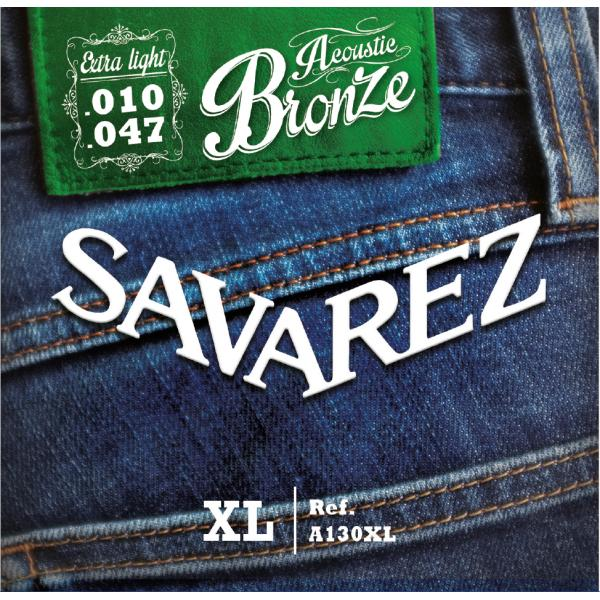 SAVAREZ A130XL BRONCE CUERDAS ACÚSTICA 10-47