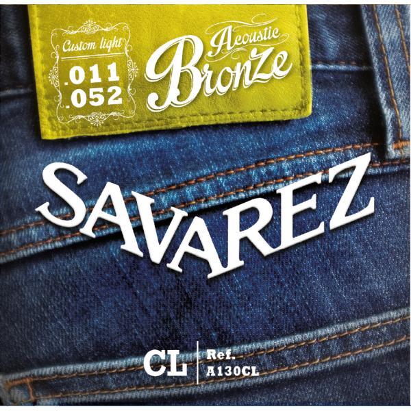 SAVAREZ A130CL BRONCE CUERDAS ACÚSTICA 11-52