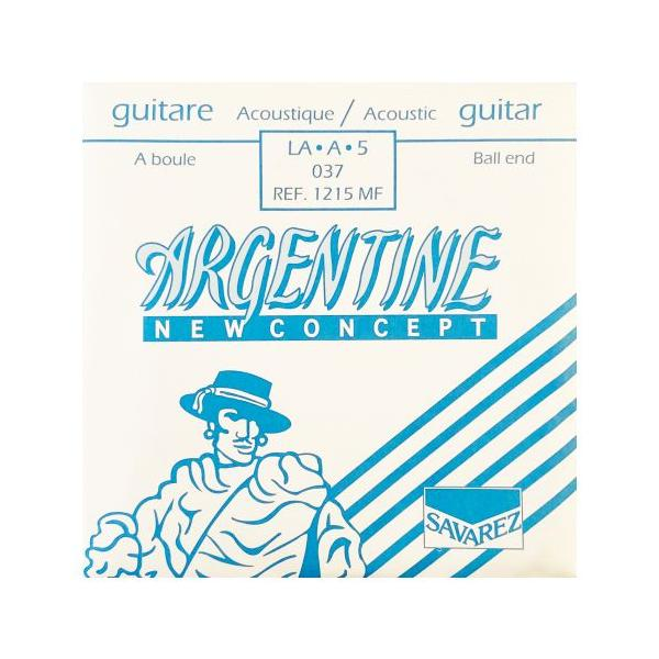 SAVAREZ ARGENTINE 1215MF BOLA CUERDA ACÚSTICA 37