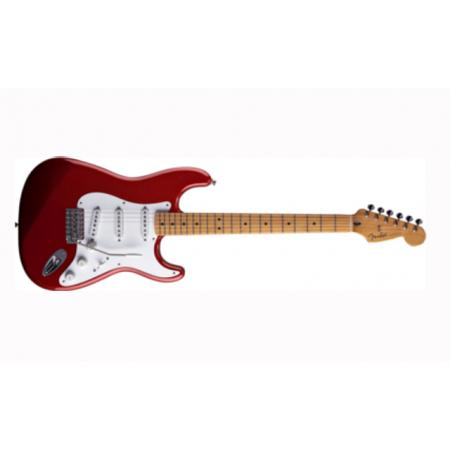 Fender Jimmie Vaughan Tex-Mex™ Strat, Maple Fingerboard, Candy Apple R