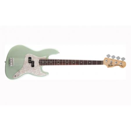 Fender Mark Hoppus Jazz Bass, Rosewood Fingerboard, Surf G bajo