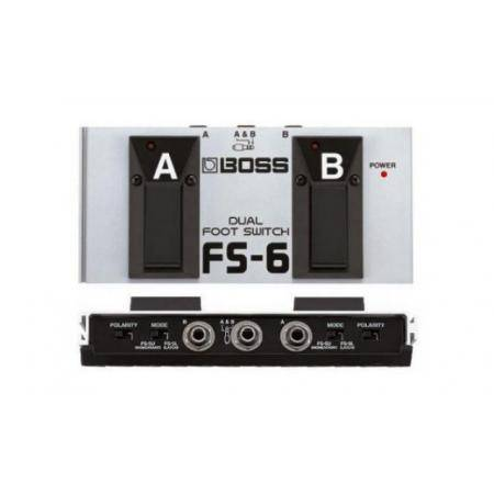 Conmutador Pedal Dual Boss FS-6