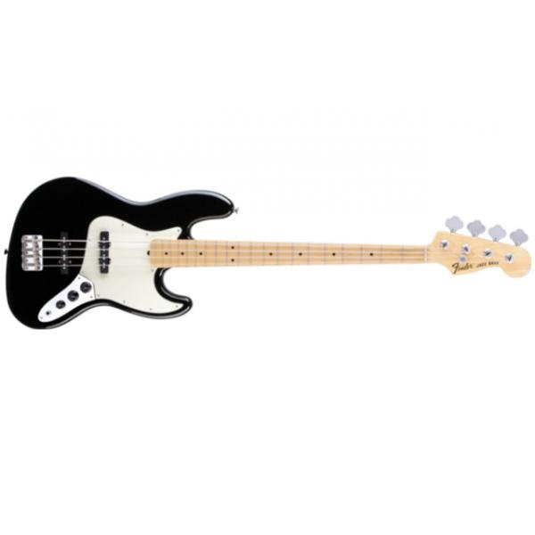 American Special Jazz Bass®, Maple Fingerboard, Black.