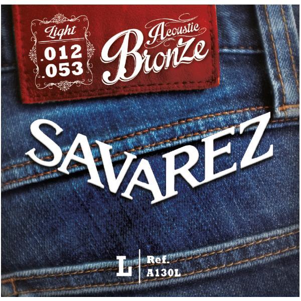 SAVAREZ A130L JUEGO CUERDAS ACÚSTICA 12-53