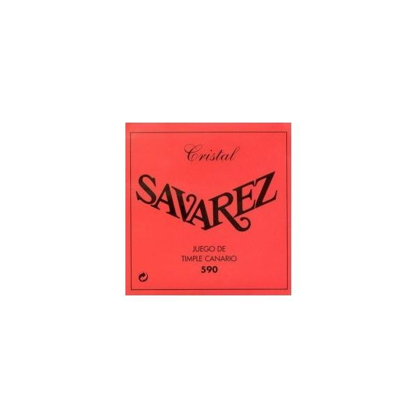 SAVAREZ 590 CRISTAL JUEGO TIMPLE CANARIO