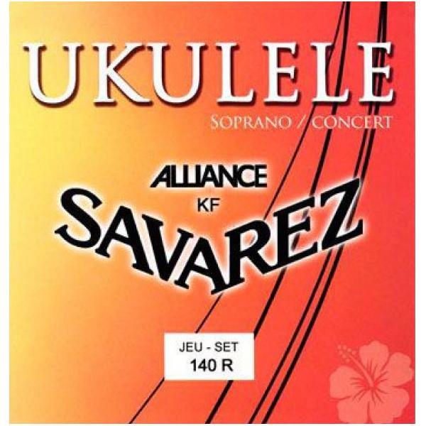 SAVAREZ 140R ALLIANCE CUERDAS UKELELE SOPR/CONC