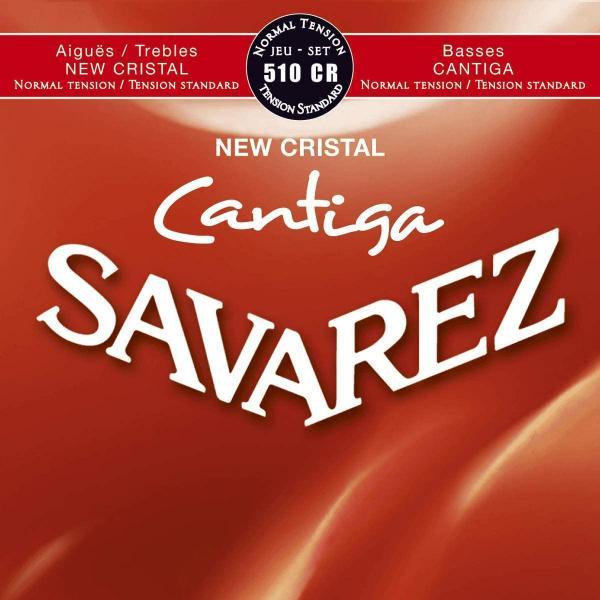 SAVAREZ 510CR NEW CRISTAL CANTIGA CUERDAS CLÁSICA