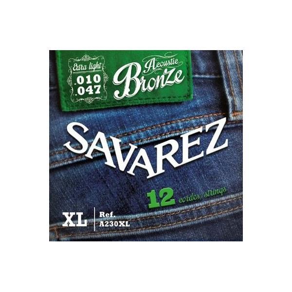 SAVAREZ A230XL BRONCE 12 CUERDAS ACÚSTICA 10-47