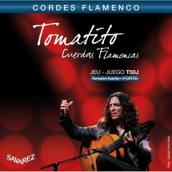 SAVAREZ T50J TOMATITO CUERDAS FLAMENCO TENSIÓN FUE