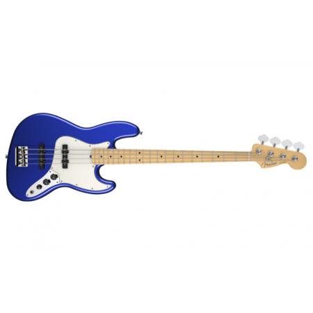 American Standard Jazz Bass®, Maple Fingerboard, Mystic Blue.