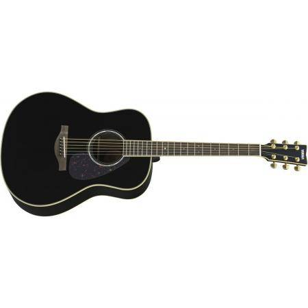 Guitarra Acústica Yamaha Negra LL6ARE-BL
