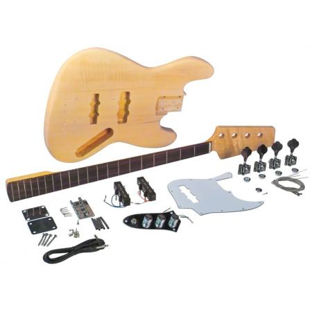 Kit Construccion Bajo JB Saga Fretless JB-12
