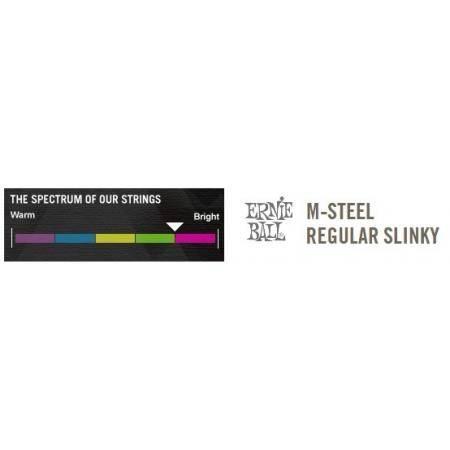 SET CUERDAS ELECTRICA ERNIE BALL SLINKY M-STEEL 10-46
