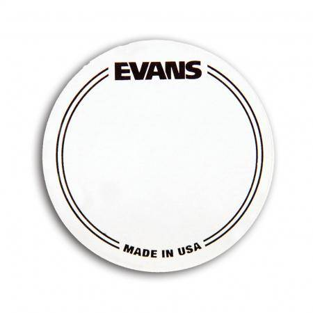 Pad Impacto Bombo Simple Evans EQ PATCH Transparente
