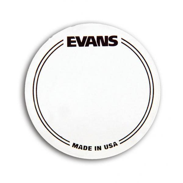 PAD IMPACTO PARA BOMBO SIMPLE EVANS EQ PATCH Transparente