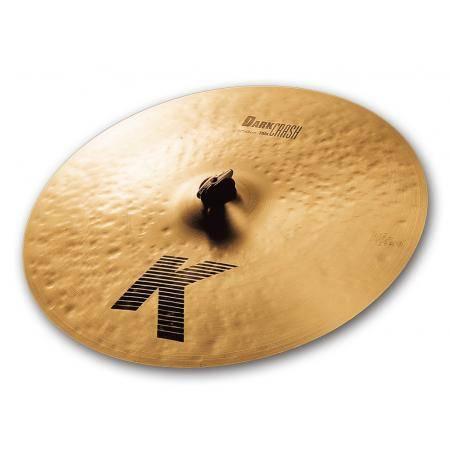 """Zildjian Crash 17"""" K Dark Thin Plato Batería"""