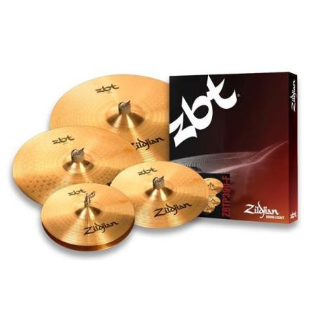 "JUEGO PLATOS ZILDJIAN ZBT F (HH14"",Crash 16"", Ride 20""+Crash 14"")"
