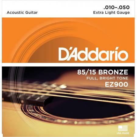 Juego Cuerdas Guit Acust D'addario Ez-900(010-050)