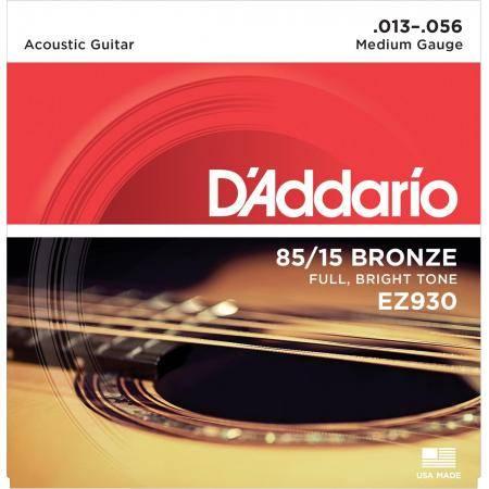 Juego Cuerdas Guit Acust D'addario Ez-930(013-056)