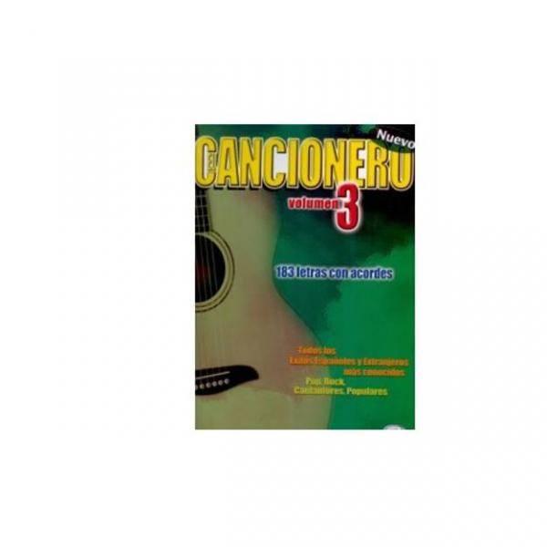 CANCIONERO VOL.3 183 LETRAS CON ACORDES PILES.