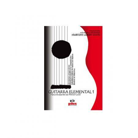 GUITARRA ELEMENTAL 1 FRANCISCO ALBERT RICOTE  PILES