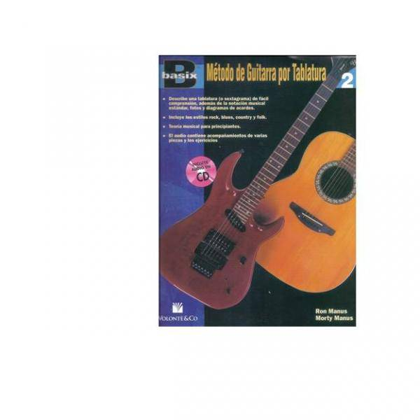 BASIX. METODO DE GUITARRA TABLATURA 1 + CD PILES