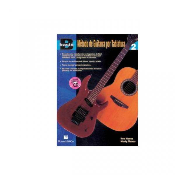 BASIX. METODO DE GUITARA TABLATURA 2 +CD PILES