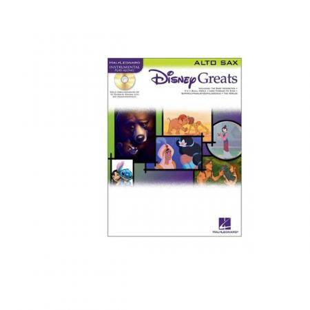 Disney Greats Saxo Alto + CD