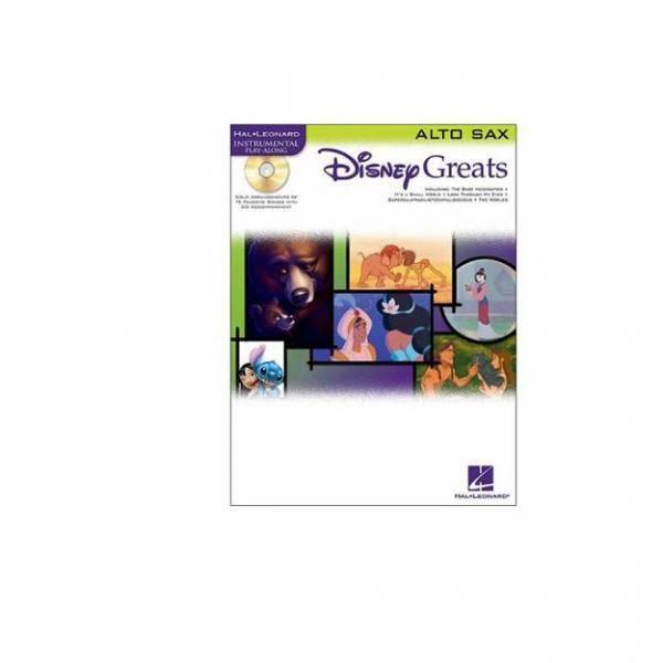 DISNEY GREATS ALT SAX + CD PILES