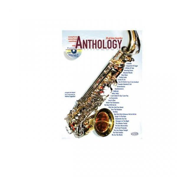 ANTHOLOGY ALTO SAX VOL. 1 + CD ALL TIME ME FAVORITE PILES