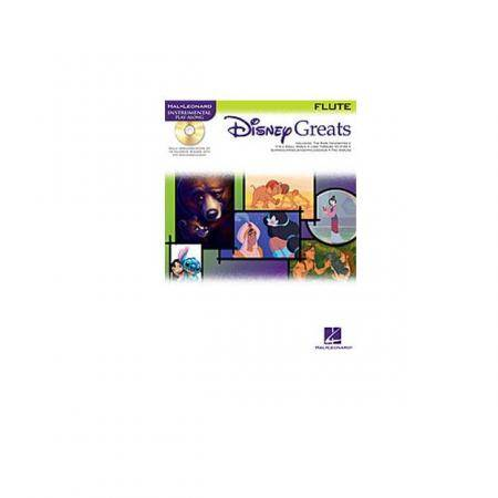 DISNEY GREATS FLUTE + CD