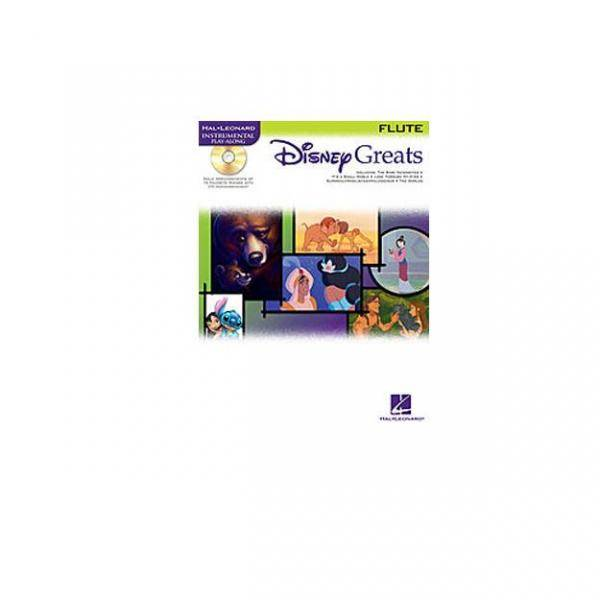 DISNEY GREATS FLUTE + CD. PILES