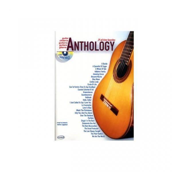 ANTHOLOGY GUITAR VOL. 1 + CD 29 ALL TIME FAVORITES PILES