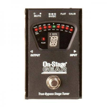 On Stage GTA7800 True-Bypass Pedal Tuner