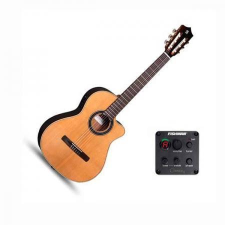 Guitarra Electroclásica Alhambra CS-LR CW-EZ Serie S Crossover