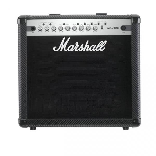 "AMPLIFICADOR GUITARRA MARSHALL COMBO MG SERIES 50W 1X12"" FX"