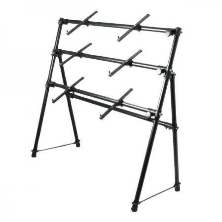On Stage KS7903 A-Frame Keyboard Stand 3 teclados