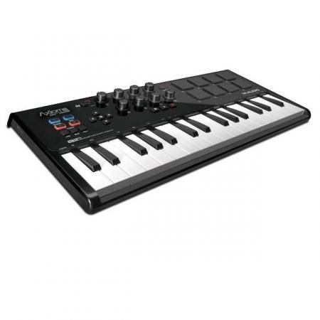M-AUDIO AXIOM AIR MINI 32 Teclado Controlador con AIR IGNITE 8 trigge