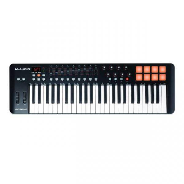 M-AUDIO OXYGEN 49 IV Teclado controlador USB/MIDI 49 teclas 8 botones