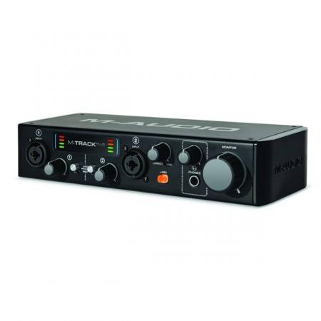 M-Audio MTRACK Plus II  Interface Audio USB 2 Canales