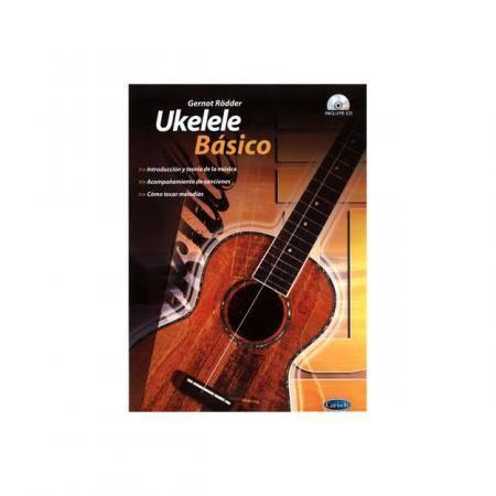 Libro Ukelele Básico + CD Gernot Rodder