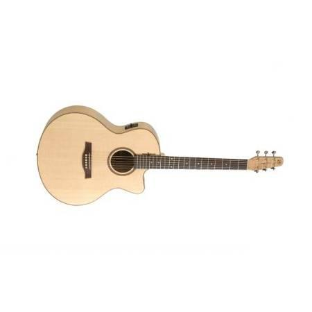 Seagull Natural Elements Amber Trail CW Mini Jumbo Guitarra electroacústica